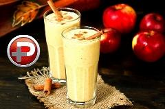 نوشیدنی مقوی ویژه افطار تا سحر؛ دستور تهیه اسموتی سیب و کدو تنبل