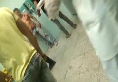فحاشی اراذل چاقوخورده به خانم پرستار در بیمارستان امام حسین (ع) تهران+ فیلم