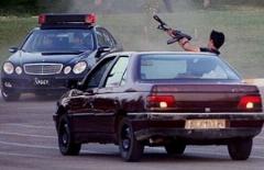 عملیات هولناک پلیس و تیراندازی در خیابان های تهران برای دستگیری یک سارق حرفه ای ماشین