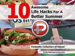 ده راهکار تابستانی که زندگی مان را آسان تر می کند