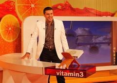 پشت صحنه عجیب از علی ضیا در برنامه ویتامین 3 + فیلم