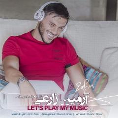 آهنگ جدید آرمین زارعی با نام بزار پلی شه موزیکم/از تی وی پلاس بشنوید و دانلود کنید