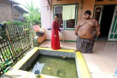 چاق ترین پسر بچه جهان معرفی شد + فیلم
