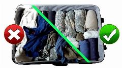 بعد از تماشای این ویدیو چمدانتان فضای بیشتری برای  وسایلتان خواهد داشت
