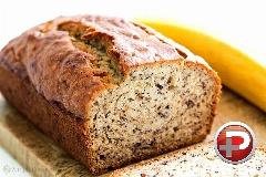 عصرانه ای دلچسب را تجربه کنید؛ آموزش تهیه نان موزی خوش عطر و طعم