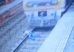 خودکشی دلخراش یک مرد در ایستگاه مترو + فیلم (16+)
