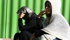 ویدیویی از کمپ ترک اعتیاد زنان در تهران