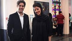 عکسی از نخستین حضور مجری معروف و همسرش در اماکن عمومی