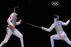 تمرین تیم شمشیرزنی ایران و چین برای آمادگی المپیک ریو2016 + فیلم