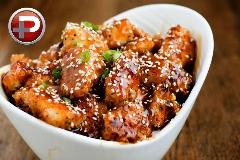 غذایی خوش طعم، عسلی و بی دردسر! آموزش تهیه مرغ کنجدی شیرین