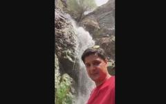 طبیعت بکر و هوای دل انگیز،  پای آبشار بوژان در نیشابور؛ دنیا رو بگرد
