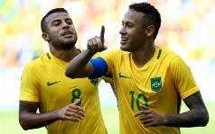 جشنواره ی گل برزیل مقابل هندوراس؛  همه رکوردها در این بازی زده شد؛ زود هنگام ترین گل تاریخ المپیک را در این ویدئو ببینید