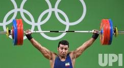 ناکامی وزنه بردار ایرانی، علی هاشمی در رسیدن به مدال المپیک + فیلم
