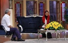 گفتگوی مهران مدیری با بازیگر زنی که اغلب پسرهای سینما را کتک زده است: فقط یک بار کتک خوردم!