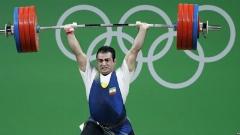فیلم لحظه قهرمانی دومین وزنه بردار ایران در برزیل/سهراب مرادی طلای المپیک را به ایران می آورد