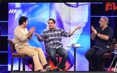 بازیگر مشهور پاکت سیگارش را در برنامه فرزاد حسنی رو کرد