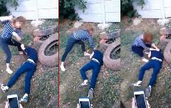 کتک کاری وحشیانه دو دختر در خیابان باعث ضربه مغزی یکی شان شد+فیلم