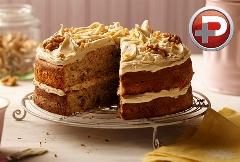 کیک موزی  باحال، ساده و خوشمزه؛ آموزش تهیه کیک موزی به سبک قنادی تی وی پلاس