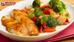 رژیمی ترین و در عین حال خوشمزه ترین غذایی که تا به حال خوردین؛ آموزش تهیه تیلاپیا با طعم سبزیجات