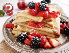 صبحانه ای دلچسب و خوش آب و رنگ؛ آموزش تهیه کرپ فرانسوی، فوری با کمترین مواد اولیه