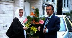باغ بزرگ مراسم جشن عروسی مختلط بازیگر معروف در سکانسی از فیلم شام عروسی/با حضور متفاوت نیکی کریمی و امین حیایی