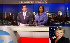 هیلاری کلینتون درگذشت! | اشتباه عجیب مجری یک شبکه آمریکایی +فیلم