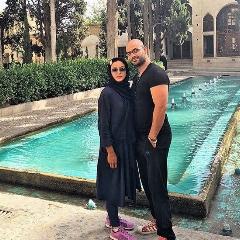همسر خوش تیپ و معروف بازیگر زن مشهور ایرانی