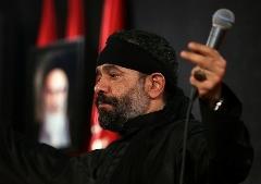 گریه مداح سرشناس با آهنگ محسن چاوشی + فیلم