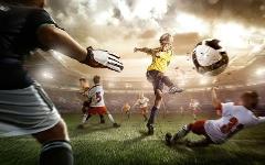 شوت هایی که سرعتشان با گلوله ی اسلحه برابری می کند؛ اگر مقابل این توپ ها قرار بگیرید، می ترکید؛  اینها فوتبالیست نیستند اسلحه هستند !!