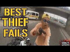 فیلم لحظه هولناک دستگیری دزدانی که بدشانس ترین دزدان دنیا لقب گرفتند