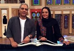 خودشیفتگی خانم بازیگر روی آنتن تلویزیون؛ ماجرای خواستگارهای نرگس محمدی از زبان خودش در دورهمی مهران مدیری