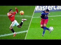 توپ به پای این ستارگان فوتبال می چسبد !تکنیک ها ناب کنترل توپ که برای هر فوتبال دوستی لذت بخش هست