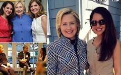 سروصدایی که عکس این دختر ایرانی کنار اوباما و کلینتون راه انداخته است