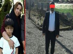 قتل وحشیانه زن اول در چاه فاضلاب بخاطر ترس لو رفتن ازدواج دوم + عکس قاتل و مقتول