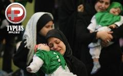 ویدیویی احساسی از گردهمایی میلیونها مادر ایرانی که پسرانشان را نذر علی اصغر کردند