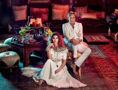 ازدواج مانکن ایرانی با مرد ثروتمند عرب+تصاویر