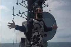 بازخواست فرمانده نیروی دریایی بخاطر کلیپ تتلو روی ناو جنگی