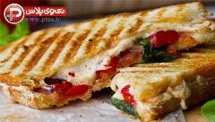 یک ساندویچ مُهیج ویژه صبحانه یا عصرانه؛ این ایده شیک شما را شیفته خودش می کند؛ آموزش تهیه ساندویچ تست گوجه فرنگی و پنیر کبابی