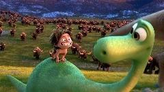 حمله حیوانات وحشی به یک نوزاد در جنگل + فیلم / قسمتی از انیمیشن بامزه دایناسور خوب