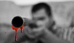 لحظه به قتل رسیدن جوان سنندجی در ملاء عام + فیلم