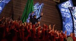 فریادهای عبدالرضا هلالی و حیدرخمسه برای دختر امام حسین (ع) در شب سوم محرم/شب حضرت رقیه (س) در هیئت الرضا