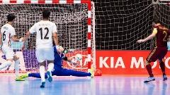 روس ها ستاره های ایران را به زانو درآوردند/شکست تلخ تیم ملی فوتسال ایران در جام جهانی/ایران سه - روسیه چهار