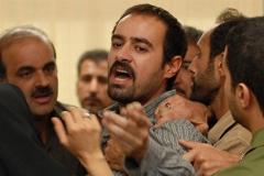 پای لیلا حاتمی و همسرش به راهروهای دادگاه باز شد؛ قسمتی زیبا از فیلم پرافتخار جدایی نادر از سیمین