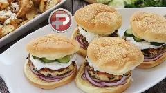 با یک بار امتحان، حتما از طرفداران این همبرگر بوقلمونی می شوید؛ آموزش تهیه برگر بوقلمون و اسفناج، برگری متفاوت و خوشمزه