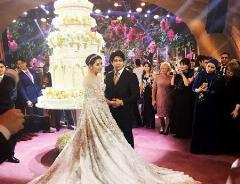 دختر سرمایه دار نفتی، گرانترین عروس دنیا شد/آخرین مهمانی مجردی عروس خانم با جت شخصی ختم به خیر شد