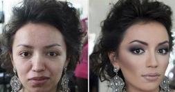 مردی پس از دیدن چهره بدون آرایش زن جذابش او را طلاق داد!