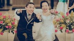 عکس هایی جذاب از مراسم عروسی کوتاه قدترین زوج دنیا
