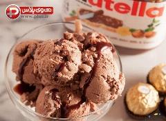 خوشمزه ترین بستنی دنیا را خودتان بسازید؛ آموزش تهیه بستنی نوتلا، با طعمی خاص و هیجان انگیز