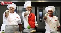اولین کلاس مختلط آشپزی و رقص ایران؛ هم بپزید، هم یاد بگیرید و هم ورزش کنید/آموزش ساندویچ چیکن با سس مخصوص و نوشیدنی خیارسکنجبین/شادپزباشی تقدیم می کند