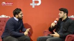 علی ضیا: ترخدا آبروی همدیگر را نبریم/پرسیدن سوال جنجالی حق خبرنگار است اما چگونه پاسخ دادنش اهمیت دارد/مجری توانمند تلویزیون ایران در غرفه تی وی پلاس - نمایشگاه مطبوعات ایران